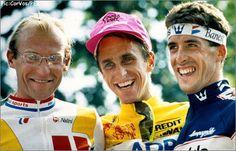 Fignon, LeMond, Delgado