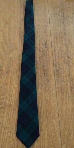 A new & unused Pure New Wool Blackwatch tartan tie. Wedding Page Boys, Tartan Tie, Kids Ties, Scottish Tartans, Men's Accessories, Pure Products, Wool, Ebay, Tie Dye Outfits