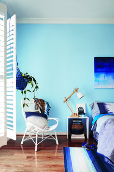 British Paints featured in Inside Out. Colour used British Paints I'm Blue.