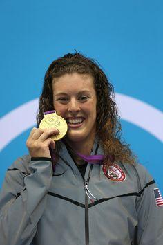London 2012 Allison Schmitt- Team USA Gold Medalist  Women's 200m Freestyle