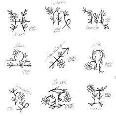 Dainty Tattoos, Pretty Tattoos, Rose Tattoos, Body Art Tattoos, Hand Tattoos, Small Tattoos, Horoscope Tattoos, Zodiac Tattoos, Capricorn Tattoo