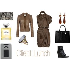 Who What Wear CLIENT LUNCH, created by anakral on Polyvore