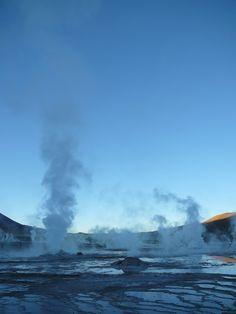 Una especial sensanción te inunda, el vapor de los geiseres y la altitud son la clave de esta maravilla de la naturaleza