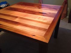 My favorite!!!  Beautiful cedar table!