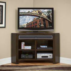 "kathy ireland Home by Martin Furniture Carlton Corner TV Stand $466.  33"" H x 55"" W x 18"" D"