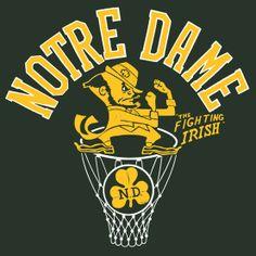 Notre Dame Basketball | Frank Ozmun Graphic Design | Chicago Notre Dame Womens Basketball, Notre Dame Football, Women's Basketball, Notre Dame Athletics, Notre Dame Wallpaper, Go Irish, Eagles Fans, Virginia Tech Hokies, Fighting Irish