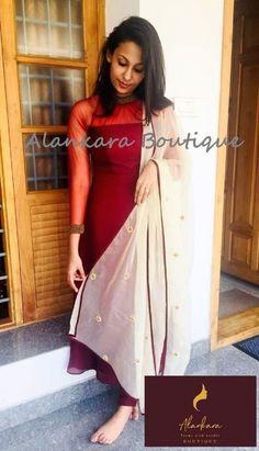 Salwar Designs, Kurta Designs Women, Kurti Designs Party Wear, Dress Indian Style, Indian Fashion Dresses, Indian Designer Outfits, Fashion Outfits, Dress Outfits, Women's Fashion
