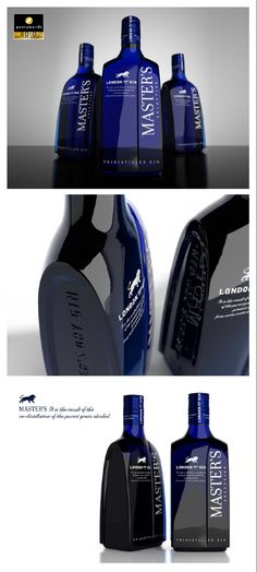 BRONZE Pentawards 2010. Master's by SeriesNemo. Brand and product design.