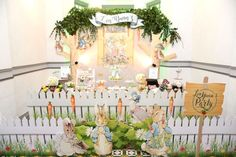 Peter Rabbit Garden Birthday Party on Kara's Party Ideas | KarasPartyIdeas.com (18)