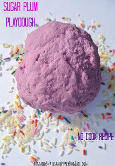 Sugar Plum No Cook Playdough - FSPDT