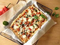 Voici une recette de pâte à pizza sans gluten.