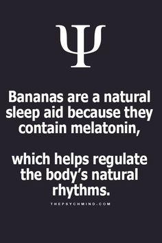 I knew it! Eat More bananas.