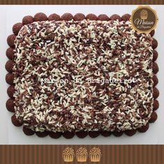 Bolo de chocolate com brigadeiro gourmet
