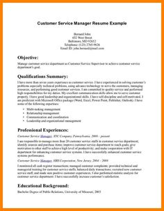 Store Supervisor Resume Sample  Resume    Customer