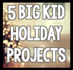 5 Holiday Projects for the BIG GUYS!!! 3 FREE Downloads in this blog post!!! Your holiday projects for the season are right here! ENJOY!!!