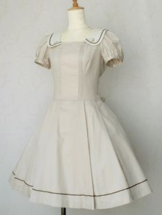 British Marine Collar Dress