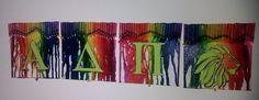 ADPi Crayon art! *by Leah Craft*