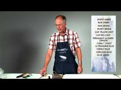 Why I Like the John Pike Palette - Watercolor Artist Eric Wiegardt - YouTube