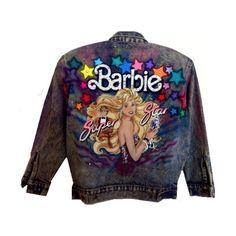 ★ ケイティ ❤ liked on Polyvore featuring outerwear, jackets, barbie, coats & jackets and tops