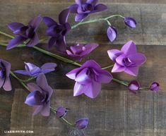 DIY Metallic Paper Dendrobium Orchids http://liagriffith.com/diy-metallic-paper-dendrobium-orchids/