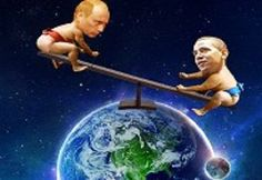 """Obama, World Leaders Play """"Nuclear War Game"""" - http://conservativeread.com/obama-world-leaders-play-nuclear-war-game/"""