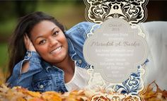 Photo Graduation Announcement  High School and by AnnounceItFavors