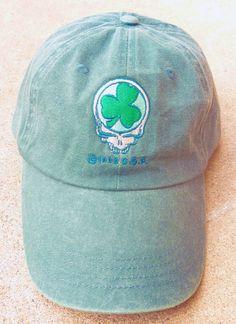 4fb6d97fba0eb Grateful Dead St Patricks Day SYF Baseball Cap Hat Deadhead Mens Clothing