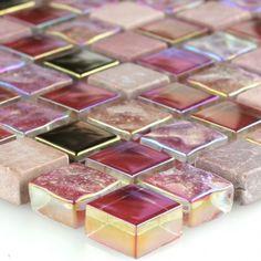 Badezimmer Und Badezimmerfliesen Farben Designs Glanz | Badezimmer ... Mosaik Akzente Badezimmer