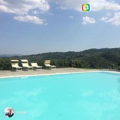 Nothing better than some pool time after a long hike! Thanks to May for the great photo! #tuscanfitness #hike #hiketuscany #tuscany #pool #summer #relax