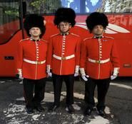 Royal Gaurds mime artist and entertainers for hire. Our Royal themed entertainment can be hired in London and across the UK. British and Royal themed entertainment ideas.
