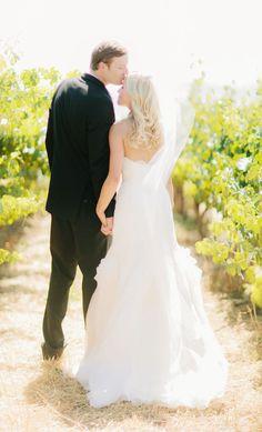 Hannah and Joe's Rustic California Vineyard Wedding