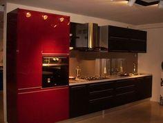Кухонные шкафы: фото и разновидности