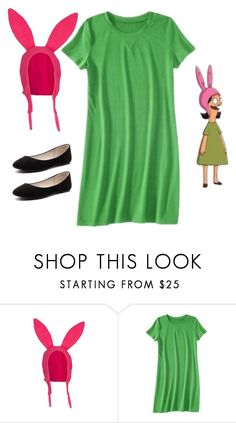 """Lousie Belcher of Bobs Burgers"" by nikkicoco2012 on Polyvore featuring Verali"