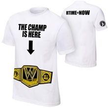"John Cena ""The Champ Is Here"" Authentic T-Shirt- medium"