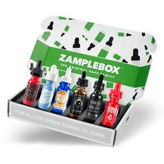 Zamplebox is an e-liquid subscription service that has been helping the vaping community discover new e-juice based on their own custom flavor profiles....