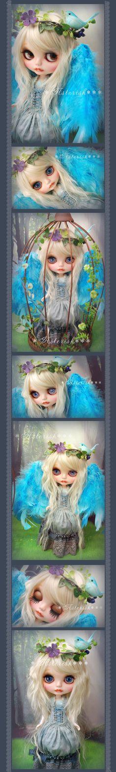 * Custom Blythe L'Oiseau blue - Asterisk *** Admin - Auction - Rinkya! Japan Auction & Shopping