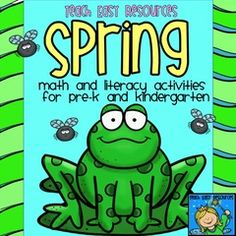 Enter to Win a Spring Unit for your Pre-K or K classroom! - This Spring Unit is packed with 11 different math, literacy, and art activities for both circle time and center time.  A tried and true collection that I pull out in my own pre-K classroom every year!Enter to win!.  A GIVEAWAY promotion for Spring Math and Literacy Activities for Pre-K to K - Teach Easy Resources from Teach Easy Resources on TeachersNotebook.com (ends on 3-28-2016)