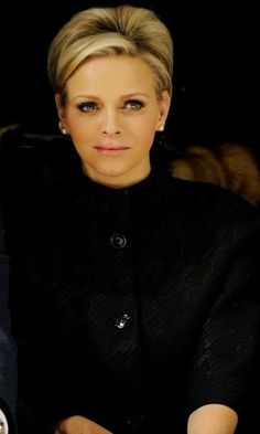 royaltyandpomp: THE BLACK H.S.H. The Princess Charlene of Monaco, née Wittstock