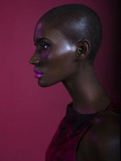 lamusenoire: Model Ania Charlot | POWDER DOOM - a makeup tumblr
