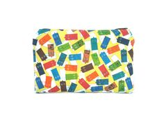 Dr Who Zipper Pouch / Camera Bag in Colorful by thepurplehedgehog, $10.00