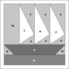 Schooner - PP2000 Printable Pattern