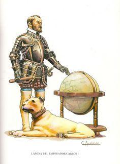 LOS TERCIOS Españoles. Carlos V