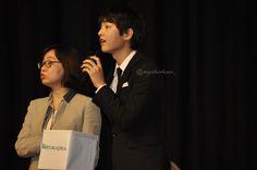 Song Joong Ki 송중기 at Zayed University, Abu Dhabi, as the Honorary Ambassador of Korean Healthcare