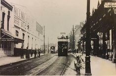 Hoe Street Walthamstow before WW1. A Walthamstow Urban District Council tram passing Victoria Hall the site of the now Granada Cinema. fromfacebookAlan Russell (@soxgnasher) on Twitter Victoria Hall, London History, As Time Goes By, Old London, Granada, Cinema, Street View, Urban, Hoe