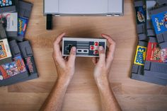 Play your NES games with razor sharp pixels.