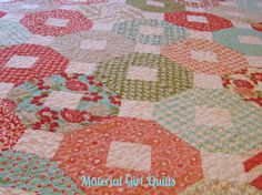 Vintage Modern Wedding {a finished quilt!} « Material Girl Quilts