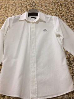 Camicia per cerimonia per bambino Fred Perry