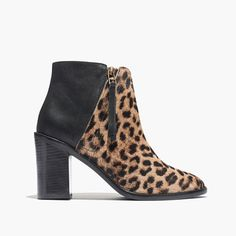 leopard booties... for the holidays (+ winning a trip for two to Paris from @Madewell) #giftwell #sweeps