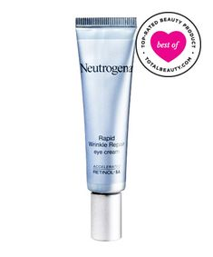 "Best Anti-Aging Product No. 5: Neutrogena Rapid Wrinkle Repair Eye Cream, $21.99 TotalBeauty.com average member rating: 9.2*Why it's great: Readers remember relying on Neutrogena products for their acne-prone teenage skin, and now they find themselves using the brand's eye cream to fight fine lines and wrinkles. ""Not only are lines no longer a problem, but there is a new clarity and brightness to my eye area,"" one reviewer notes."