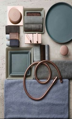 A moodboard is always an inspiration to interior design! Deco Pastel, Mood Board Interior, Material Board, Mood And Tone, Colour Board, Color Stories, Color Pallets, Colour Schemes, Colorful Interiors